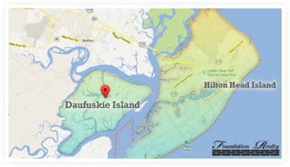 Daufuskie Island Real Estate Map