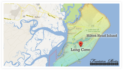 Long Cove Real Estate Map