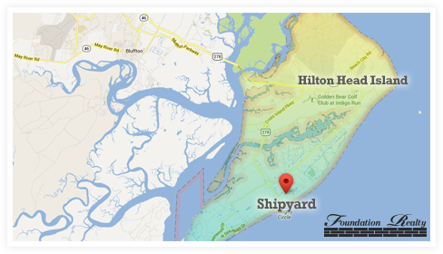 Shipyard Real Estate Map